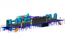 Пиролизная линия переработки резины